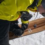 Pogo Splitboards und Snowsurfer waren beliebt