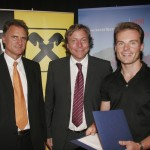Schruns 2007: Verleihung des Tourismus Innovationspreises des Landes Vorarlberg an Simon Graf
